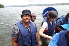 SASAC student on show in Uganda
